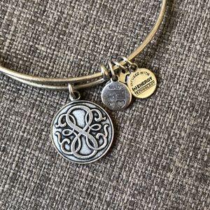 Alex and Ani Silver Path of Life Bracelet